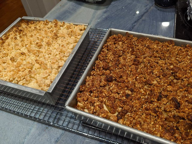 Apple Lover's Apple Crumble