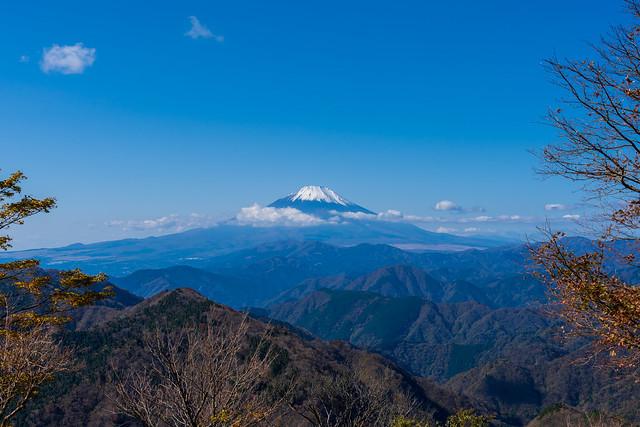 富士山@鍋割山