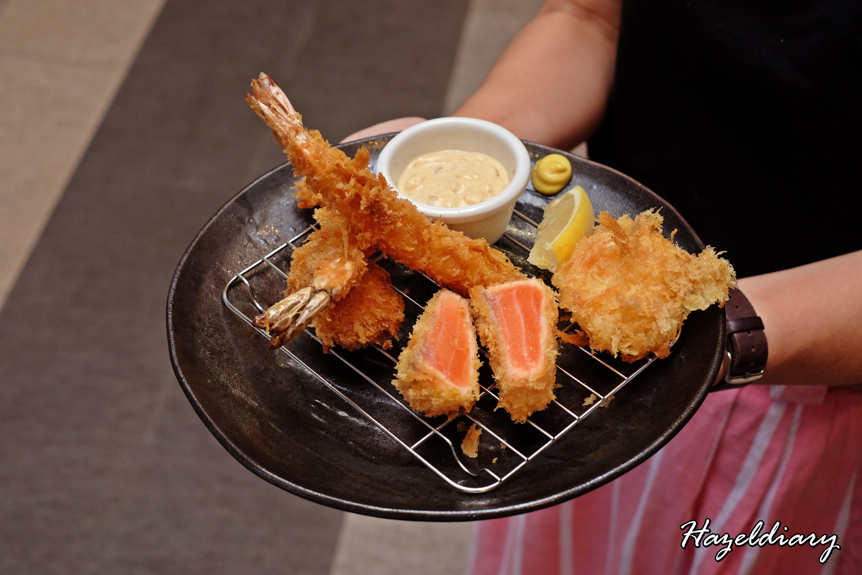 Shiokoji Tonkatsu Keisuke-Paya Lebar Square-Assorted Seafood Katsu