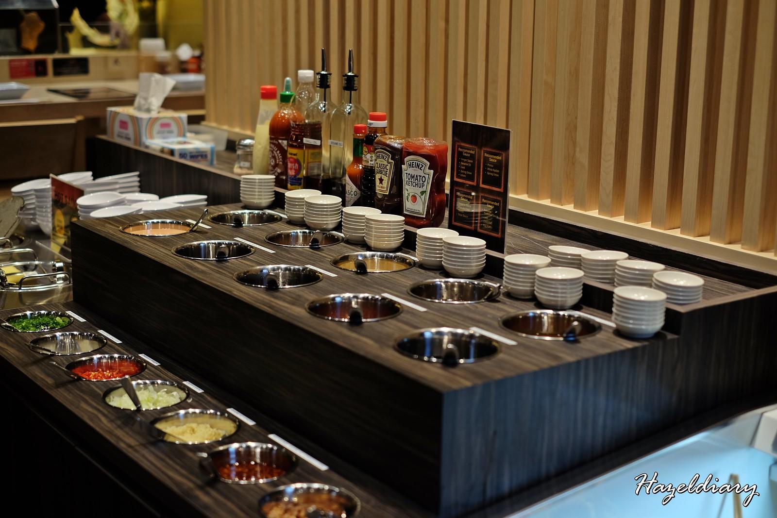 Shiokoji Tonkatsu Keisuke-Paya Lebar Square-Sauces Bar