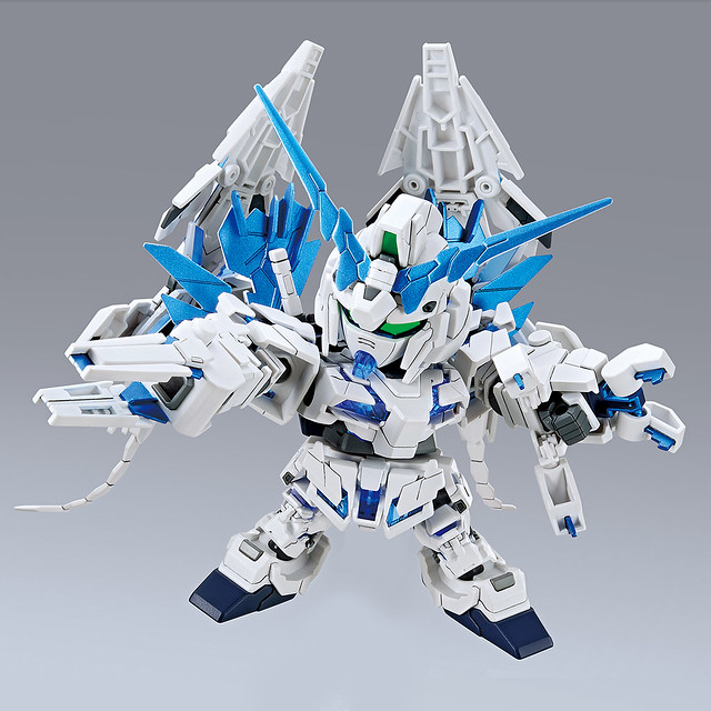 BB戰士《機動戰士鋼彈UC》RX-0 完全裝備型獨角獸鋼彈(ユニコーンガンダムペルフェクティビリティ)【GUNDAM BASE 限定】