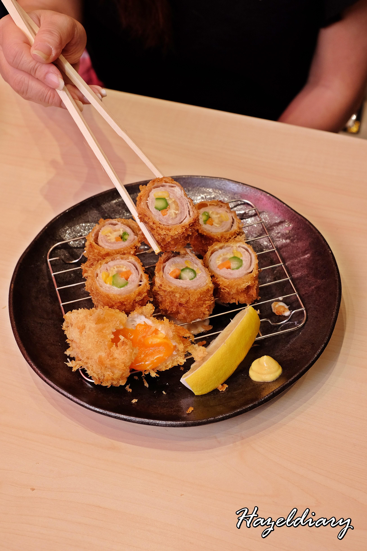 Shiokoji Tonkatsu Keisuke-Paya Lebar Square-Rolled Pork & vegetables-1