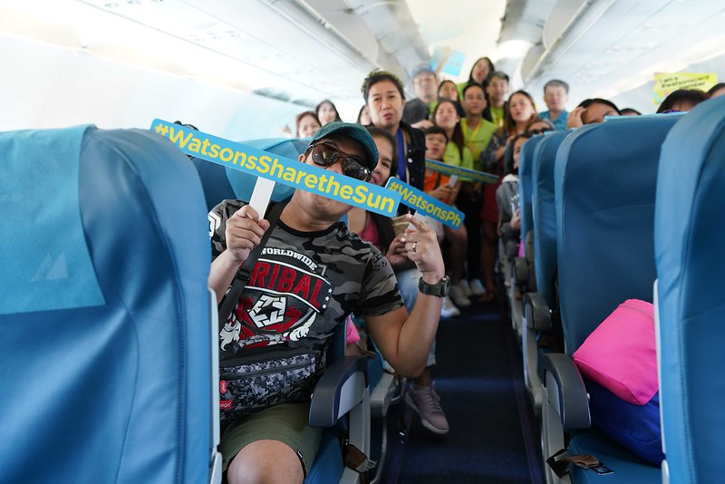 Winners fly to Boracay for Watsons Share The Sun promo