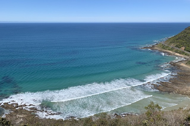 From Teddy's Lookout at Lorne.