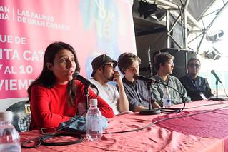 RUEDA DE PRENSA HANGGAI, JUNGLE BY NIGHT, DJ MAM, LORENA ÁLVAREZ, TOTÓ NORIEGA Y YERAY RODRÍGUEZ
