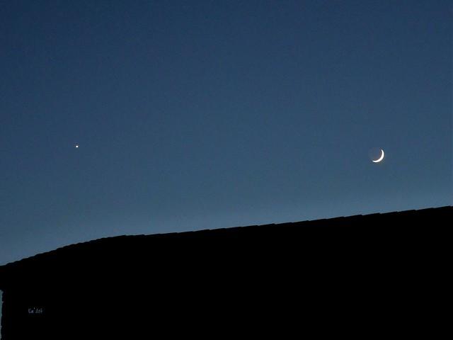 Lune et vénus - Moon & Venus