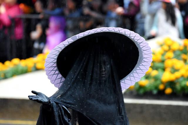 Desfile del Día de Muertos 2019 sobre Paseo de la Reforma, CDMX