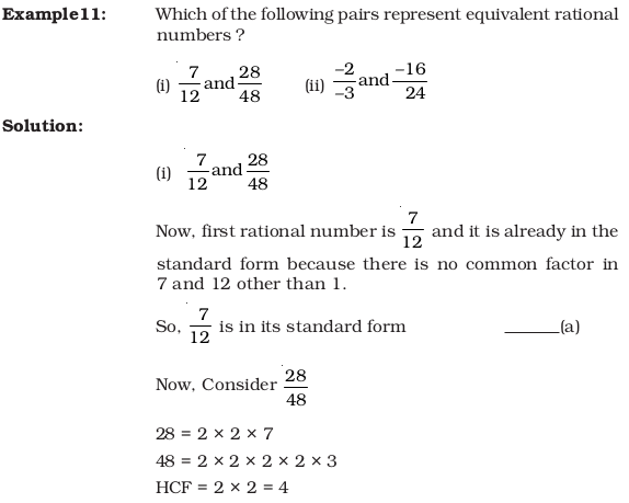 Ncert Exemplar Class 7 Maths Unit 8 Rational Numbers Aglasem Schools