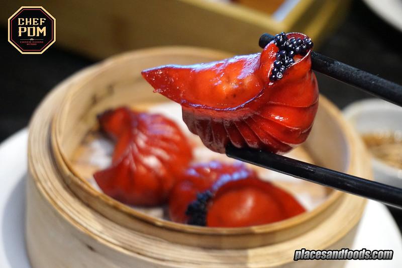 chef pom bangkok Steamed Foie Gras