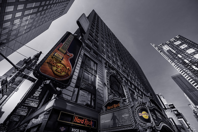 Hard Rock Cafe in New York City - USA