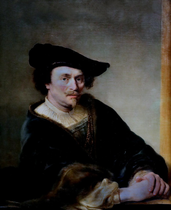 IMG_4016TA Ferdinand Bol 1616-1680 Amsterdam  Portrait d'homme Portrait of a man 1646   Munich Alte Pinakothek