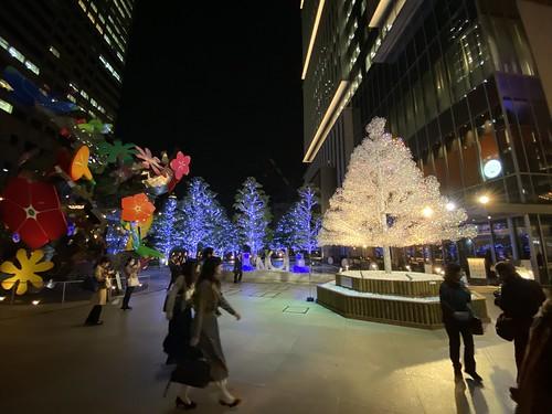 東京ガーデンテラス紀尾井町 クリスタルツリー 2019/11/11