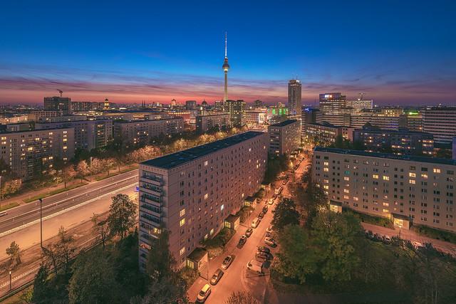 Berlin - Skyline Karl-Marx-Allee