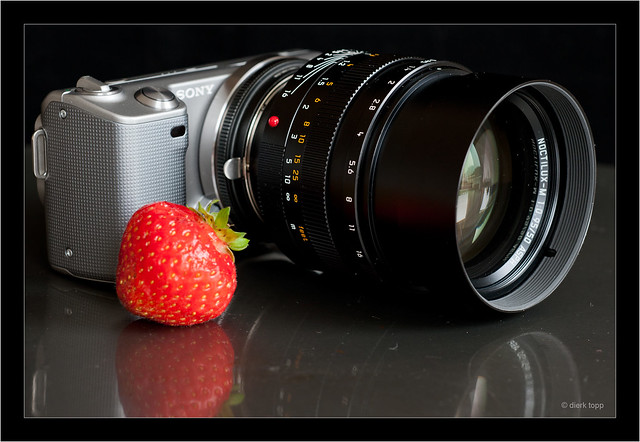Sony NEX-5 with Leica Noctilux-M 0.95/50 ASPH