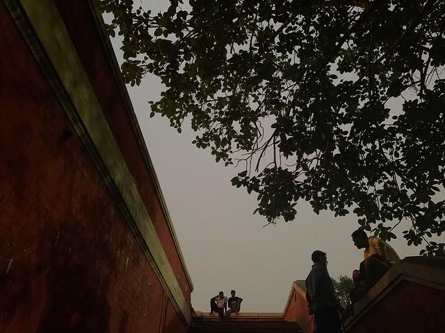 City Landmark - The Gloomy Staircase, Near New Delhi Railway Station