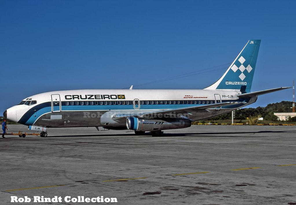 Cruzeiro B737-2C3 PP-CJN