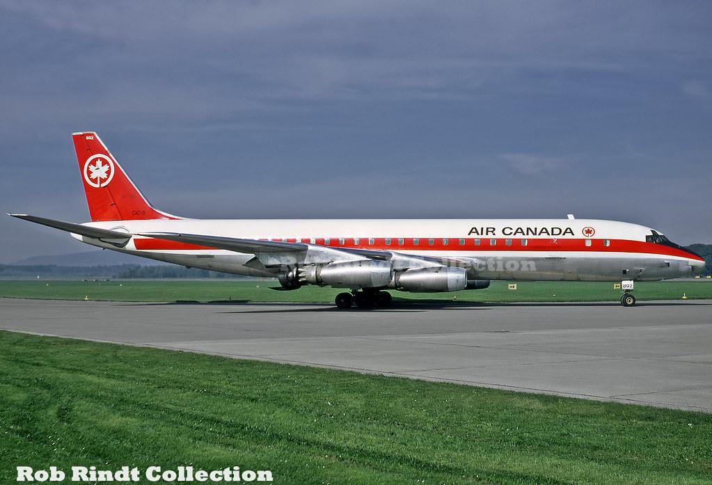 Air Canada DC-8-43 CF-TJB