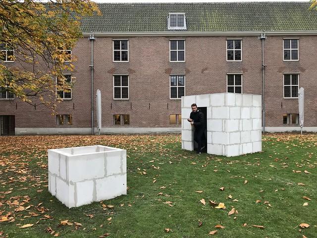 MaKOM at Hermitage courtyard, Amsterdam