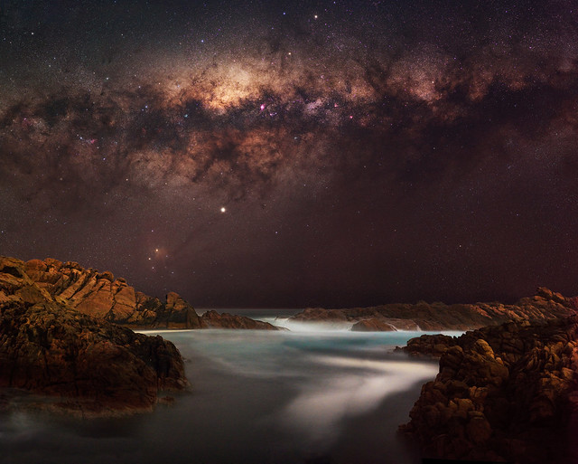 Milky Way at Canal Rocks, Western Australia