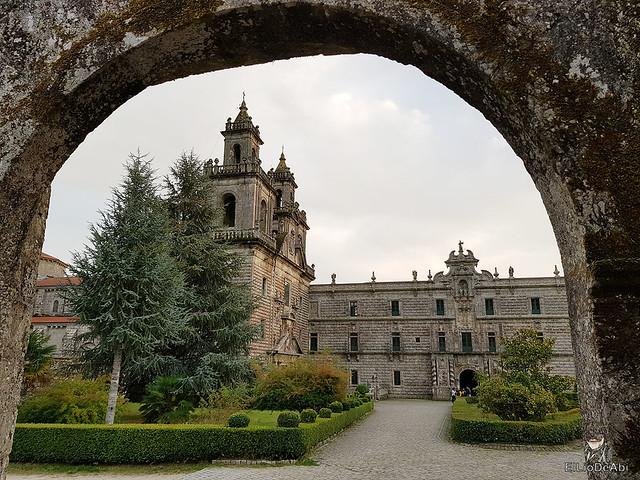 Un día en el Camino de Santiago Vía de la Plata Monasterio de Oseira (1)