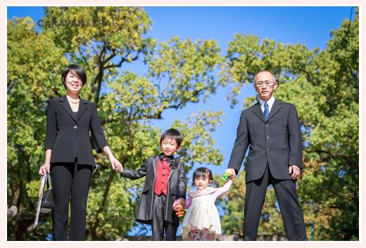 七五三のロケーション撮影 深川神社(愛知県瀬戸市)
