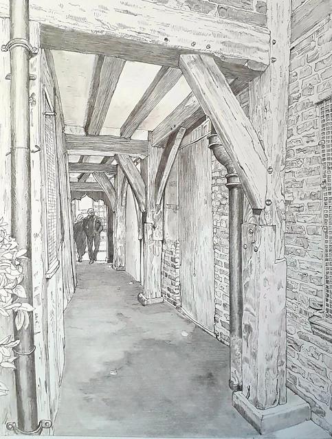 The passageway at 37 Shambles, York