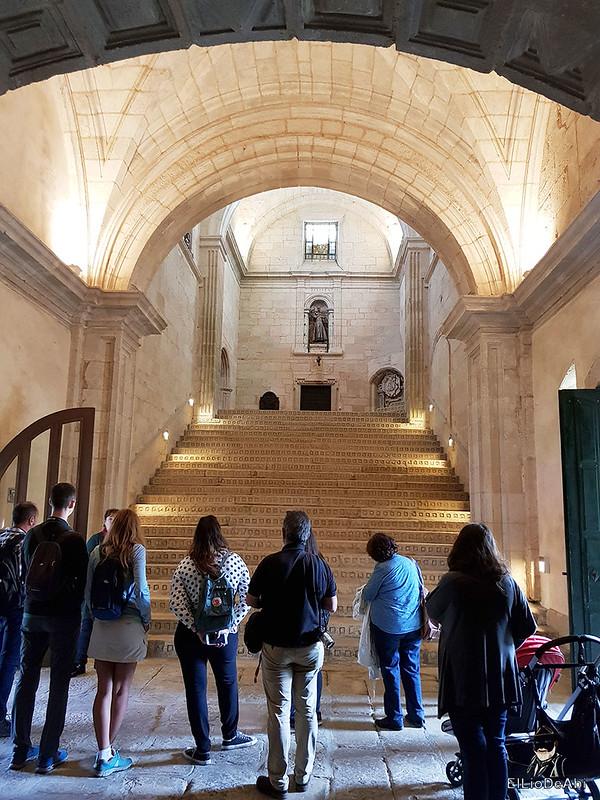 Un día en el Camino de Santiago Vía de la Plata Monasterio de Oseira (8)