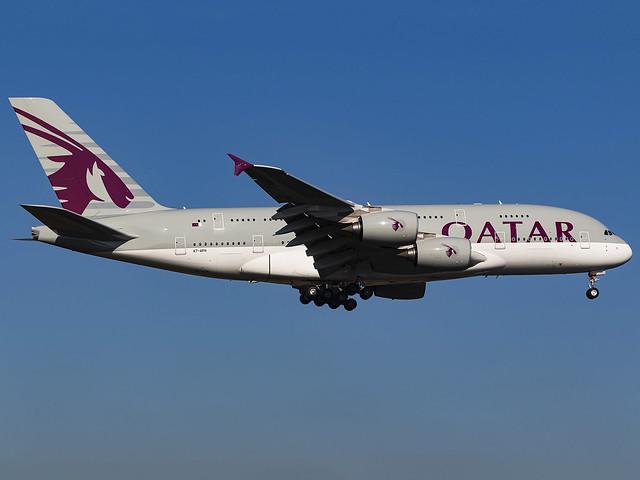 Qatar Airways | Airbus A380-861 | A7-APH
