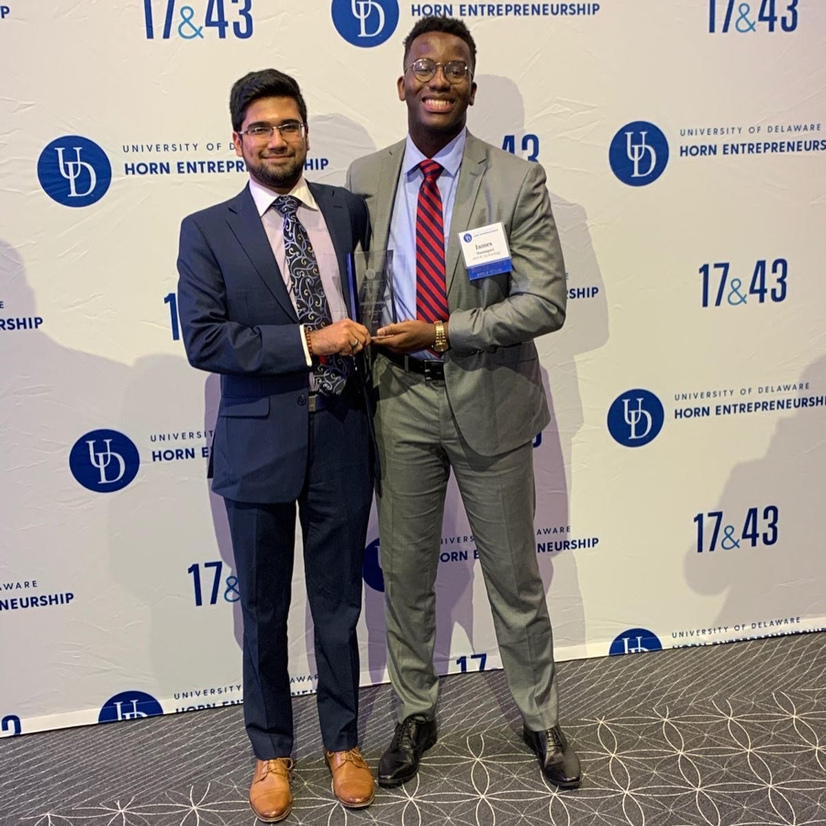 University seniors take home big money for their business in regional pitch competition