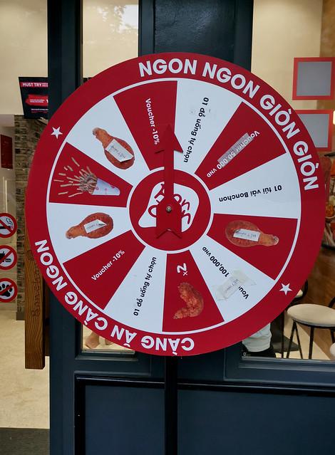 Wheel of Friend Chicken