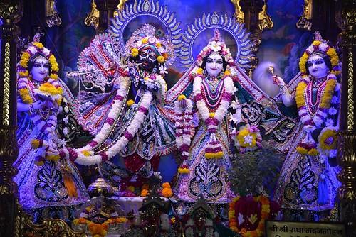 ISKCON Ujjain Deity Darshan 11 Nov 2019