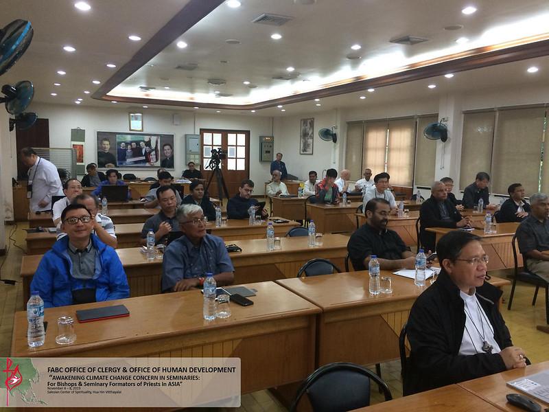 Đào tạo Chủng sinh châu Á: Hội thảo về Biến đổi Khí hậu