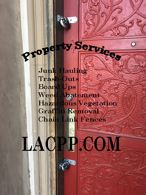 city ordered property nuisance sherman oaks CA
