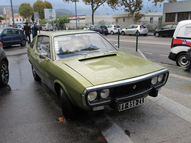 03:08:1973 Renault 17 TL FF-050-ZX - 6 novembre 2019 (Ajaccio)