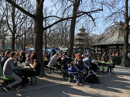 Chinesischer Turm Restaurant and Biergarten. From 10 Places Where History Comes Alive in Munich