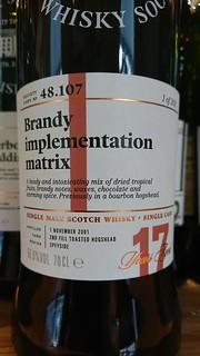 48.107 - Brandy implementation matrix
