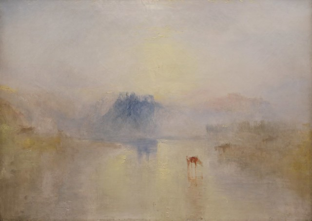 Northam Castle, Sunrise (1845)