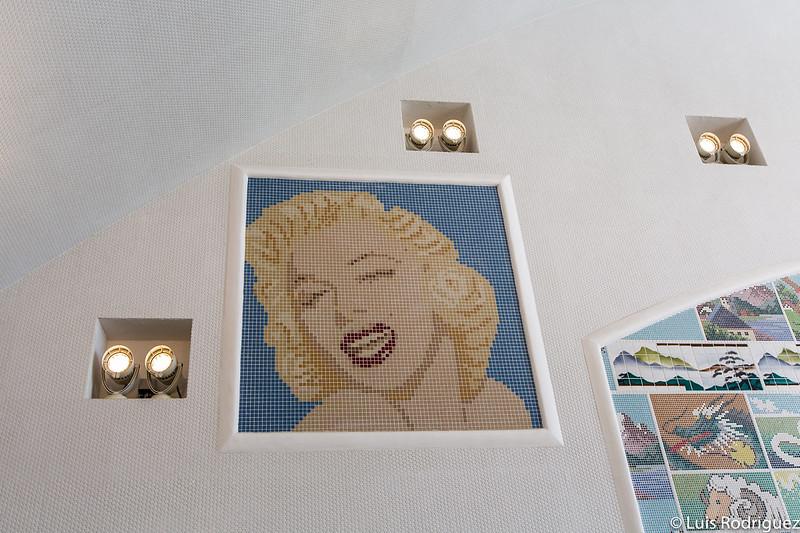 Mosaico de Marilyn Monroe
