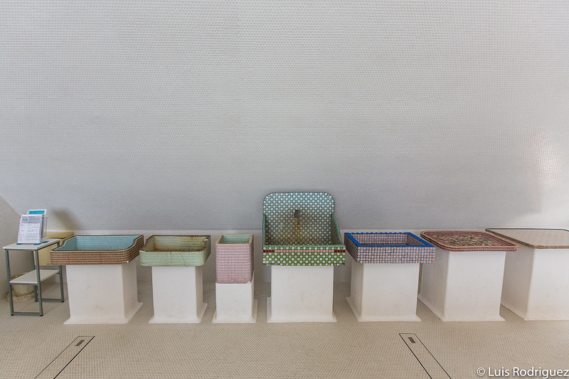 Mesas y piletas tradicionales