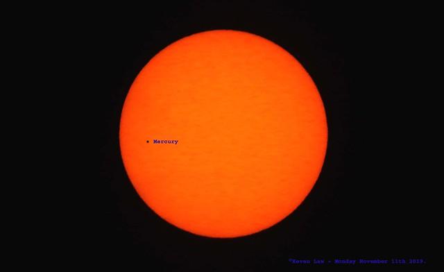 Mercury Transit Of The Sun.........