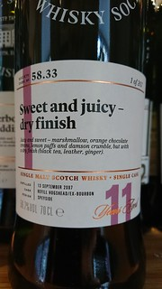 58.33 - Sweet and juicy - dry finish