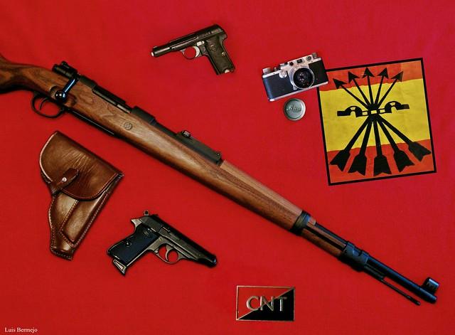 Guerra Civil Española - Ilustración