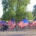 Apache Wells Community Church Veterans Flag Garden