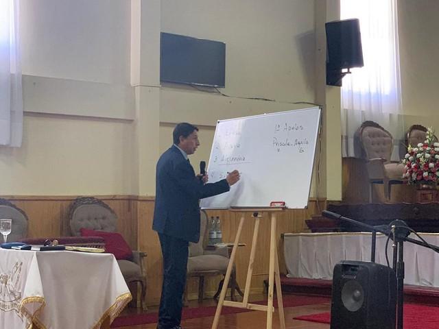 Evangelismo JUMEP trabajando en Penco.