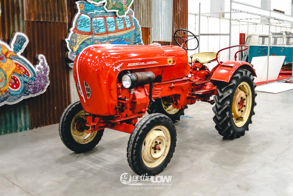 porsche super diesel tractor 1960