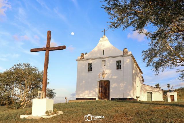 Capela da Vitória, Mata de São João - BA. O melhor entardecer da cidade.
