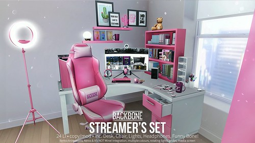 BackBone Streamer's Set