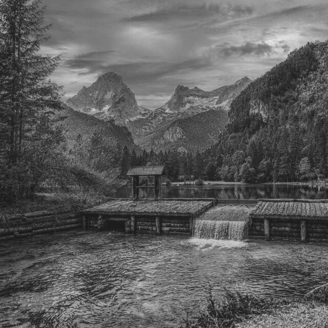 Schiedenweiher, Hinterstoder, Upper Austria