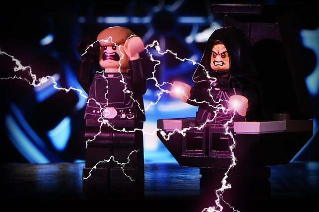 LEGO Luke Skywalker Vs The Emperor