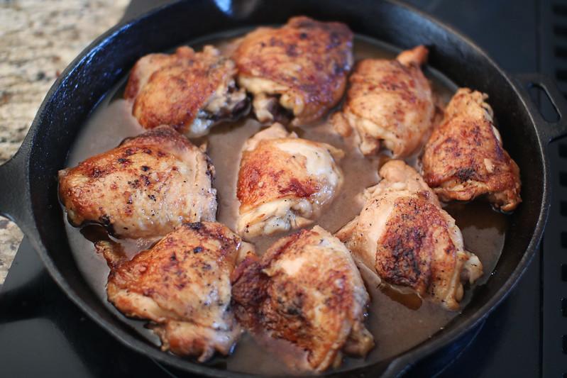 Pan-Roasted Honey Garlic Chicken